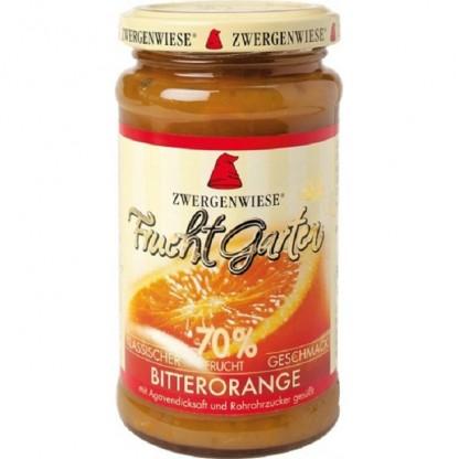 Gem de portocala amara BIO indulcit cu nectar de agave 225g Zwergenwiese