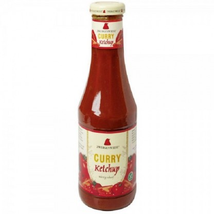 Ketchup curry fara gluten BIO 500 ml Zwergenwiese