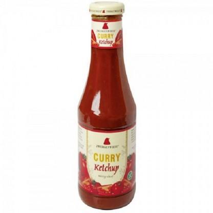 Ketchup curry fara gluten BIO 500 ml Zwergenwiese