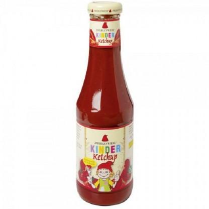 Ketchup pt copii cu indulcitor din mere, fara gluten BIO 560 ml Zwergenwiese