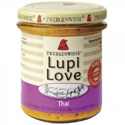 Lupi Love crema tartinabila cu lupin Thai, fara gluten BIO 165g Zwergenwiese