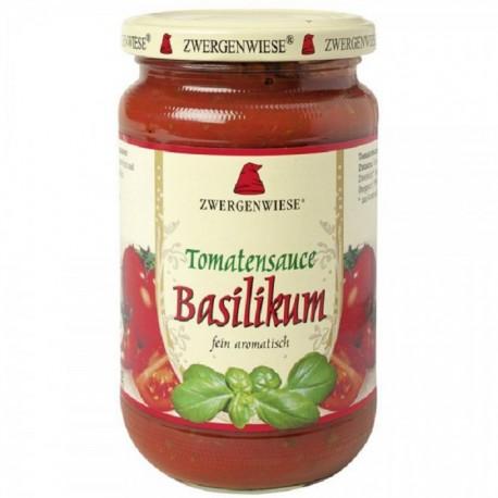 Sos de tomate cu busuioc BIO fara gluten 340ml Zwergenwiese