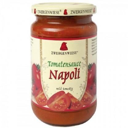 Sos de tomate Napoli BIO fara gluten 340ml Zwergenwiese