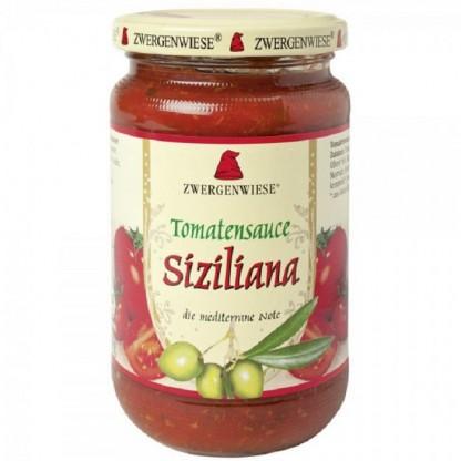 Sos de tomate Sicilian BIO fara gluten 340ml Zwergenwiese