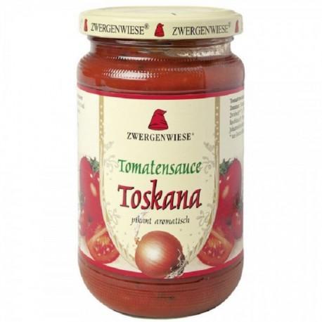 Sos de tomate Toskana picant BIO fara gluten 340ml Zwergenwiese