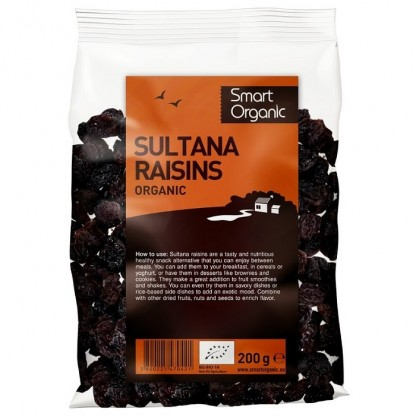 Stafide sultana BIO 200g Smart Organic