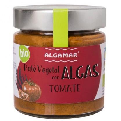 Pate vegetal cu alge si rosii BIO 180g Algamar