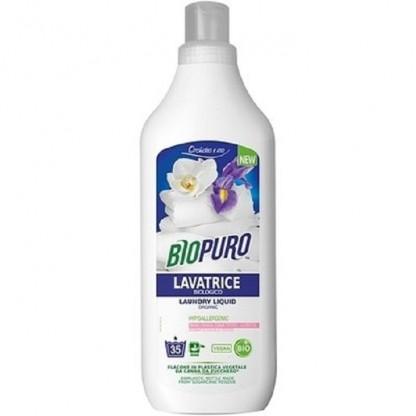 Detergent hipoalergen BIO pentru rufe albe si colorate 1L BioPuro
