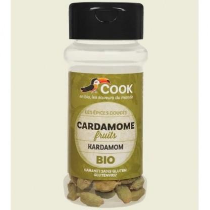 Cardamom verde intreg BIO 25g Cook