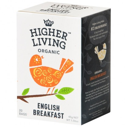 Ceai English Breakfast BIO 15 plicuri Higher Living