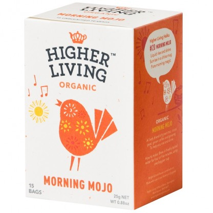 Ceai Morning Mojo BIO 15 plicuri Higher Living