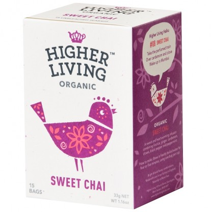 Ceai Sweet Chai BIO 15 plicuri Higher Living
