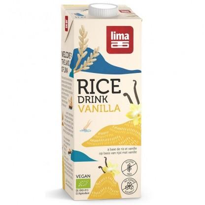 Bautura vegetala de orez cu vanilie BIO 1 litru Lima Food
