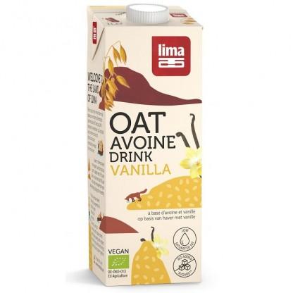 Bautura vegetala de ovaz cu vanilie BIO 1L Lima