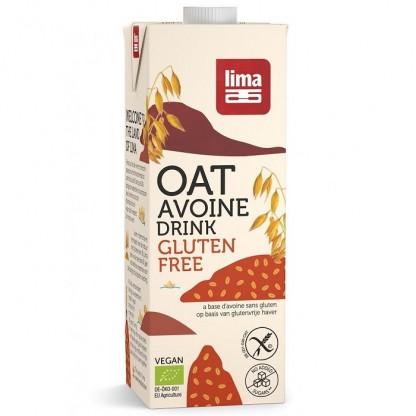 Bautura vegetala de ovaz fara gluten BIO 1L Lima