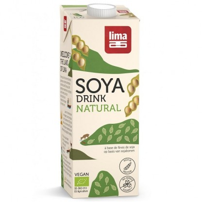Bautura vegetala de soia BIO 1L Lima