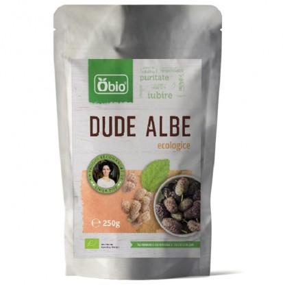 Dude Albe organice raw 250g Obio