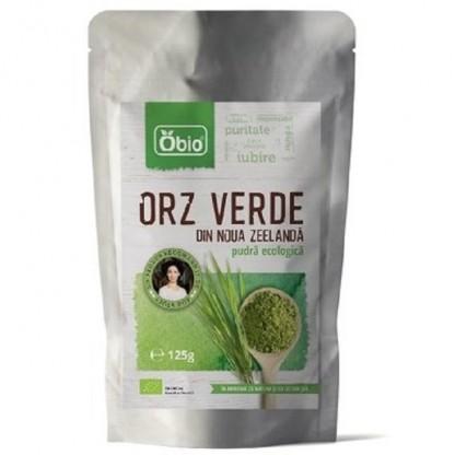 Orz verde pudra BIO Noua Zeelanda 125g Obio