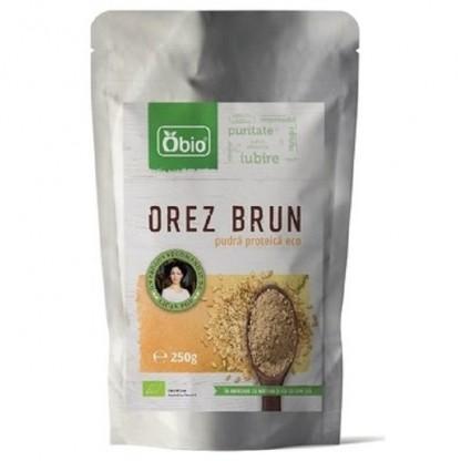 Proteina din orez pudra premium BIO 250g Obio