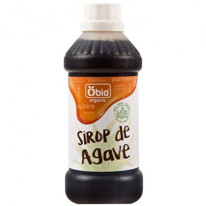 Sirop de agave dark raw bio 250ml Obio