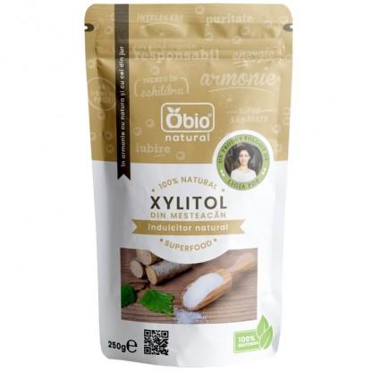 Xylitol (zahar mesteacan) 250g Obio