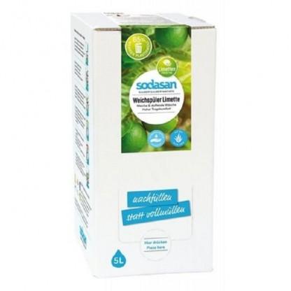 Balsam de rufe BIO cu Lime 5 litri Sodasan