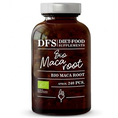 Bio Maca 240 tablete x 500mg, 120g Diet Food