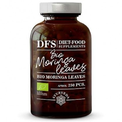 Bio Moringa 250 tablete x 500mg, 125g Diet Food