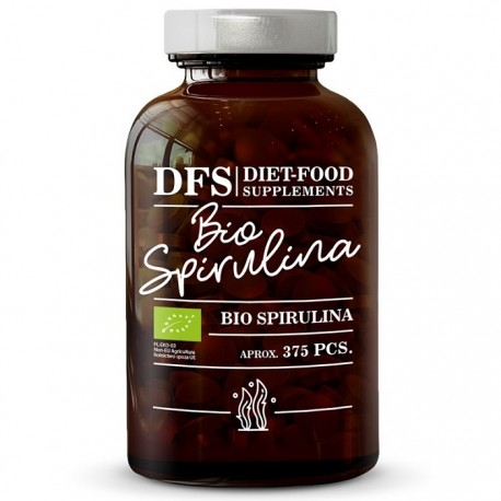 Bio Spirulina 375 tablete x 400mg, 150g Diet Food