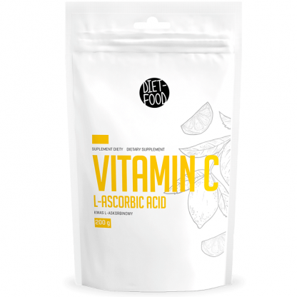 Vitamina C pulbere, 100% naturala 200g Diet Food