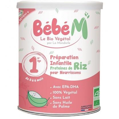 Formula 1 Bautura vegetala instant pt bebelusi (de la naștere) 800g Bebe Mandorle