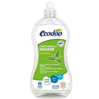 Detergent BIO vase cu aloe vera si verbena 500ml Ecodoo