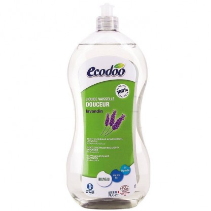 Detergent BIO vase cu aloe vera si lavanda 1L Ecodoo