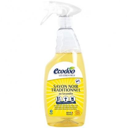 Sapun negru traditional spray 750ml Ecodoo