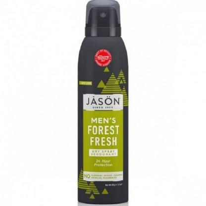 Deodorant spray pt barbati, protectie 24h, Forest Fresh 90g Jason