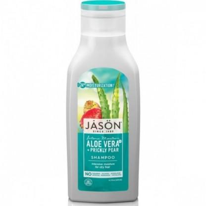 Sampon hidratant cu aloe vera 80% si fruct de cactus, par uscat 473ml Jason