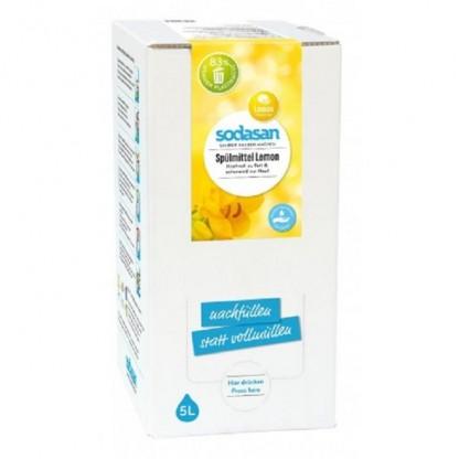 Detergent lichid ecologic pentru vase cu lamaie 5L Sodasan