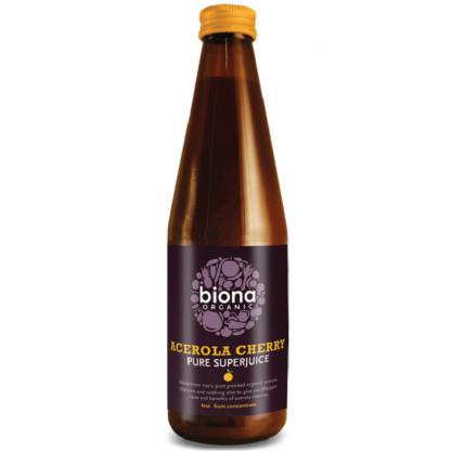 Suc de acerola pur BIO 330ml Biona