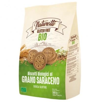 Biscuiti cu hrisca BIO fara gluten 300g Naturotti