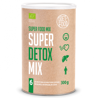 Super Detox Mix pulbere BIO 300g Diet Food
