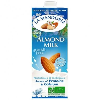 Lapte de migdale fara zahar 1L La Mandorle