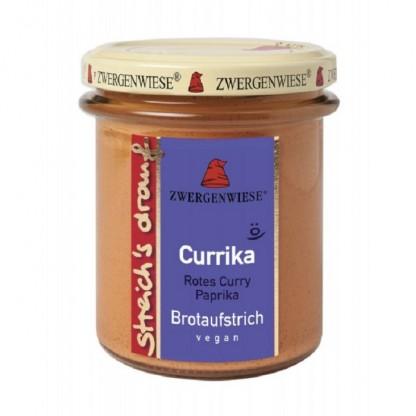 Pasta tartinabila cu ardei si curry BIO fara gluten 160g Zwergenwiese