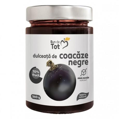Bun de tot - Dulceata de coacaze negre fara zahar 360g Dacia Plant