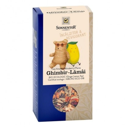 Ceai de Ghimbir Lamaie BIO Sonnentor 80g