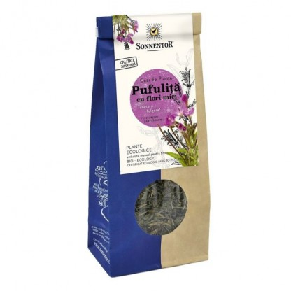 Ceai Pufulita cu flori mici BIO Sonnentor 50g