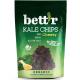 Chips din kale cu aroma de branza raw bio vegan 30g Bettr