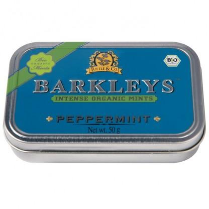 Dropsuri cu menta BIO 50g Barkleys