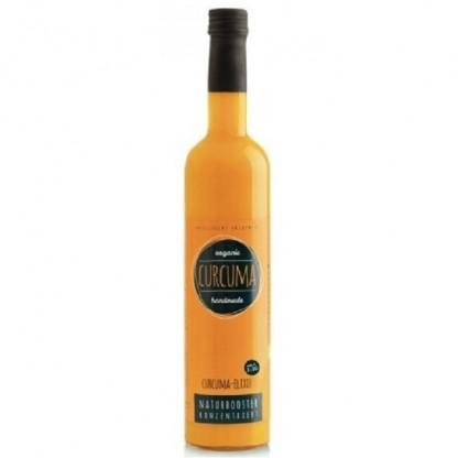 Elixir de turmeric (curcuma), concentrat din radacina proaspata de turmeric BIO 500ml Retter