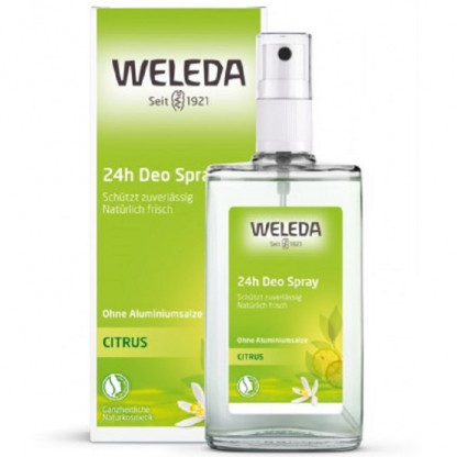 Deodorant natural spray cu citrice 100ml Weleda