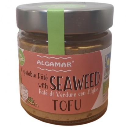 Pate vegetal cu alge si tofu BIO 180g Algamar